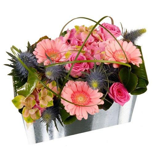 Livraison de la composition florale anniversaire ibis par florajet - Composition florale anniversaire ...