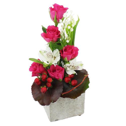 Livraison de la composition florale joaillier par florajet for Livraison composition florale