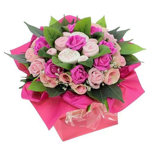 Livraison de fleurs bouquet naissance rose livraison for Livraison rose